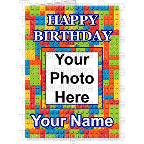 Happy Birthday Card With Photo And Name