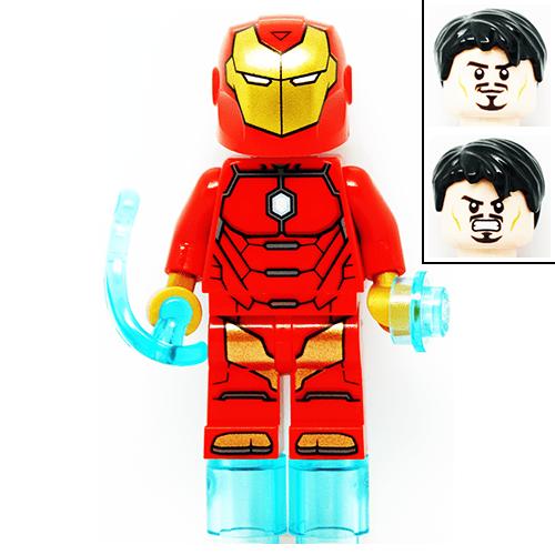 Invincible Iron Man Marvel Super Heroes LEGO Minifigures ...