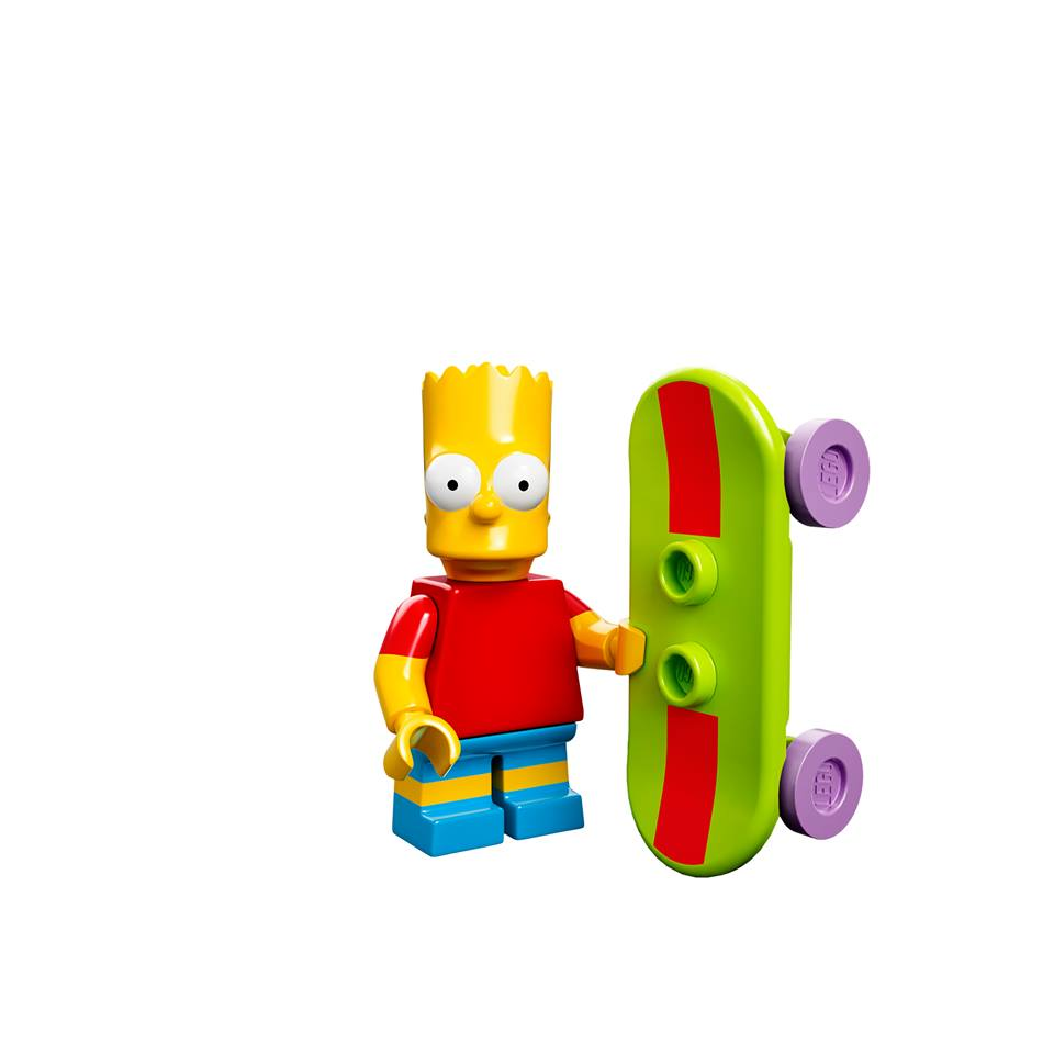 Bart Simpson Collectable Minifigure Series Lego Simpsons Series 1