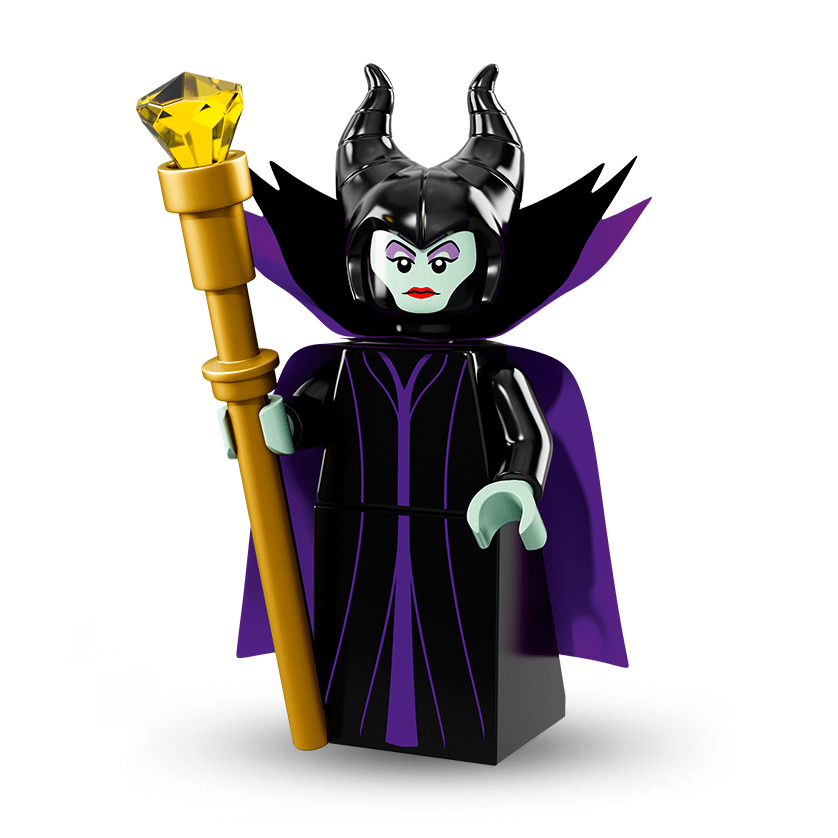 Maleficent-Disney-Pixar-Series-1-LEGO-Minifigures png - The