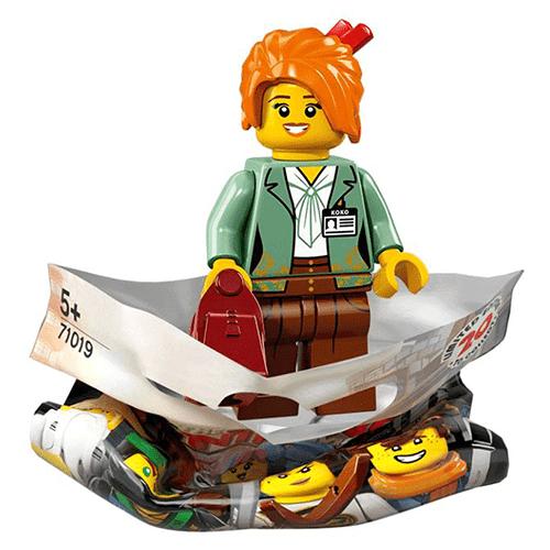 Misako The Lego Ninjago Movie Lego Minifigure 71019 Png The Minifigure Store Authorised Lego Retailer