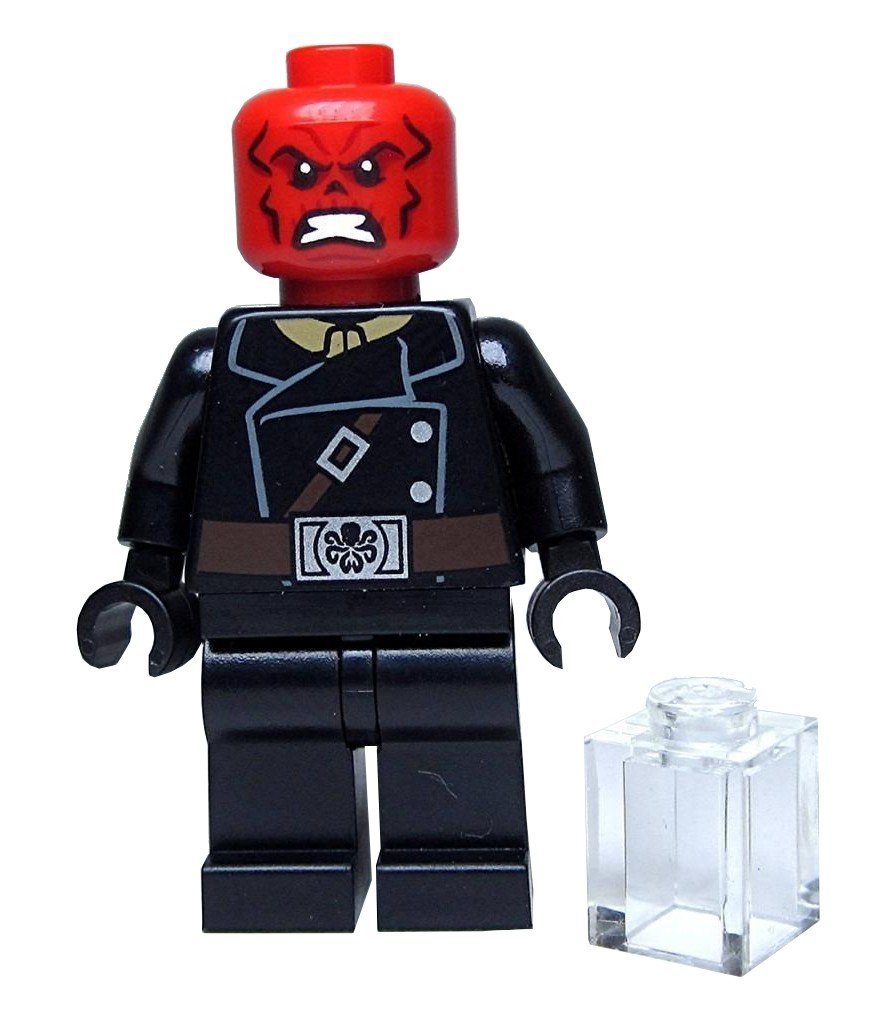 Red Skull Marvel 76017 LEGO Minifigure - The Minifigure Store