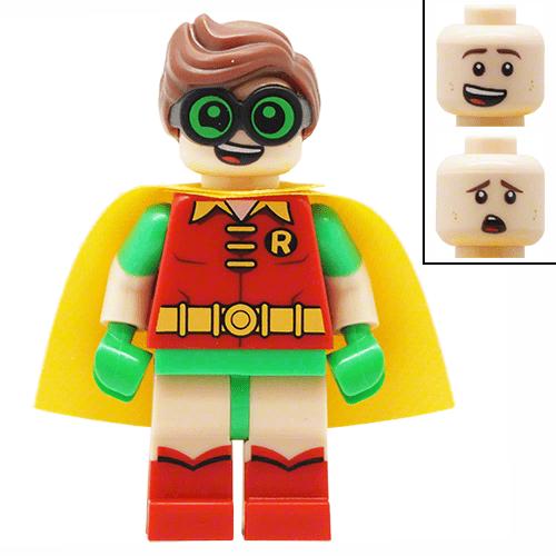 Robin Lego Batman Movie Lego Minifigures 70902 Png The