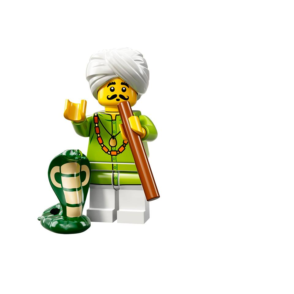 Snake Charmer Lego Minifigures Series 13