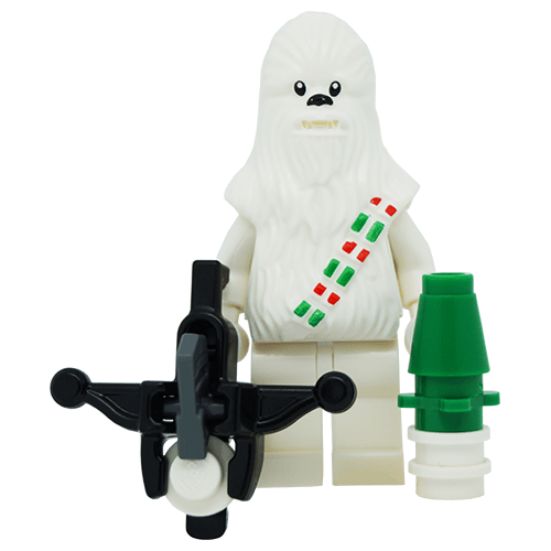 Snow Chewbacca White Limited Edition Star Wars LEGO ...