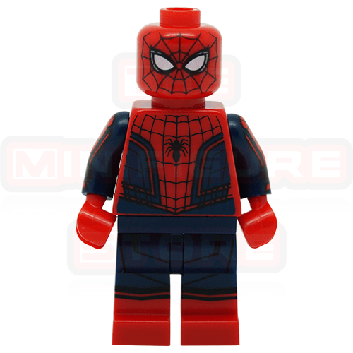 Spiderman With Web Marvel Civil War LEGO Minifigures 76067 ...