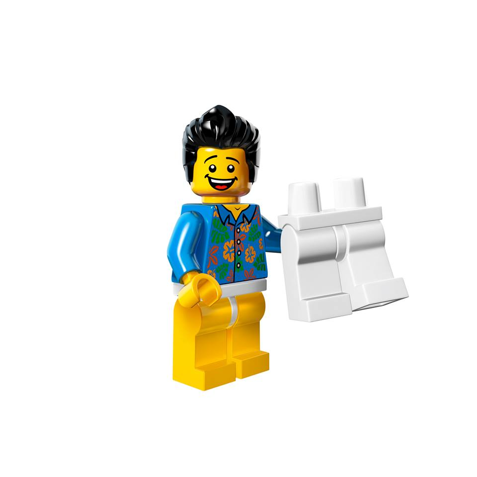 Lego Movie Toys : Where are my pants guy the lego movie minifigure