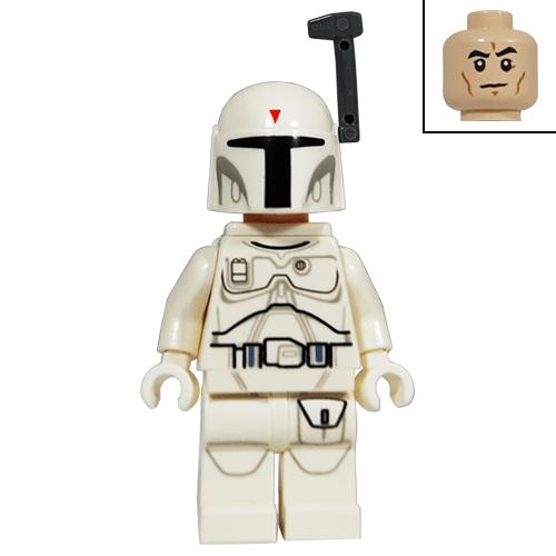 White Boba Fett Star Wars Lego Minifigure The Minifigure Store