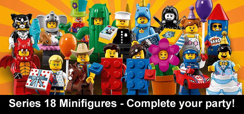 Buy Official LEGO Minifigures | LEGO Super Heroes | Series 1-18 ...