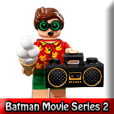 The LEGO Batman Movie Series 2 LEGO Minifigures 71020