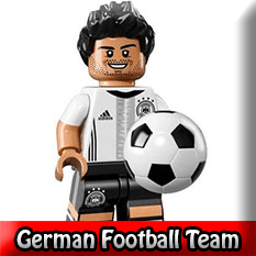 DFB German Football Team LEGO Minifigures 71014