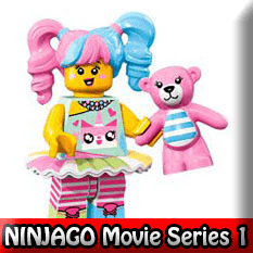 The LEGO NINJAGO Movie LEGO Minifigures Series