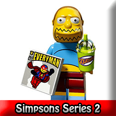 The Simpsons LEGO Minifigures Series 2