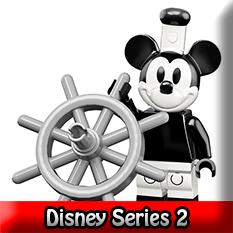 Disney Pixar Series 2 LEGO Minifigures