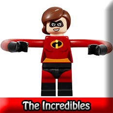 The Incredibles LEGO Minifigures