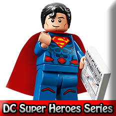 DC Super Heroes LEGO Minifigures Series 71026