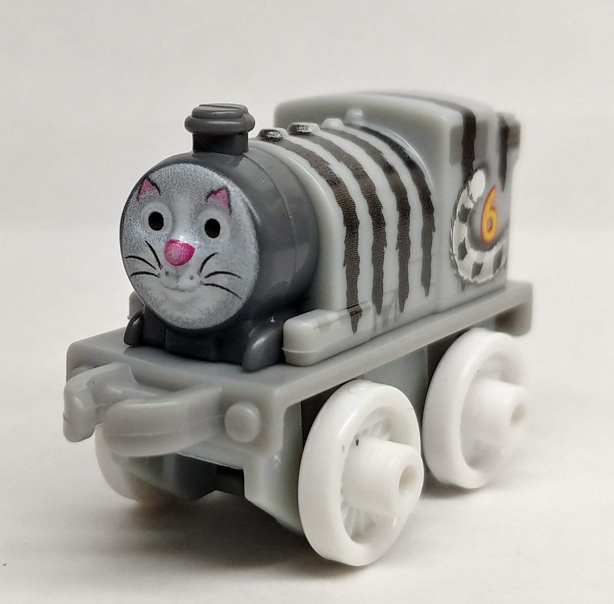 7bfec4eb7fb9 Fisher-Price Thomas & Friends Minis - Cat Percy (4cm Engine) - (Bagged  Collectable Train) #390