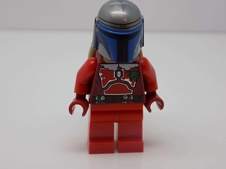 JANGO FETT in SANTA Suit (Christmas Special) – LEGO Star Wars Minifigure a6d6f8185