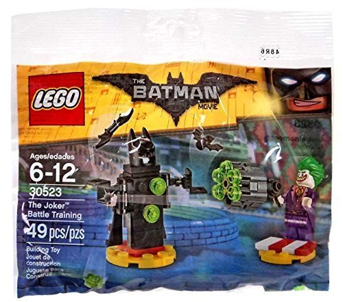 Battle Movie Set Joker Training Batman Polybag Lego The 30523 4RLA3j5q