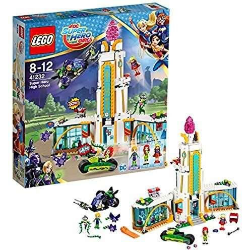 Lego 41232 Dc Super Hero Girls Super Hero High School Superhero Toy
