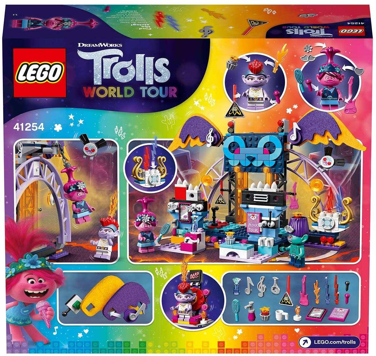 Lego Trolls World Tour Volcano Rock City Concert 41254 The