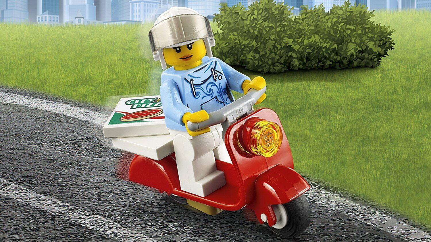 Lego 60150 City Great Vehicles Pizza Van And Scooter