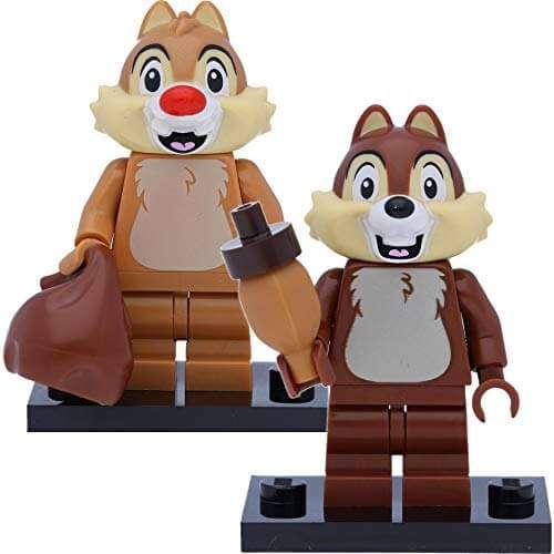 71024 Lego Mini-Figure Disney Series 2 Chip N' Dale