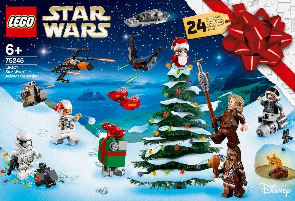 Lego Christmas Set 2019.Lego Star Wars Advent Calendar 2019 Set 75245