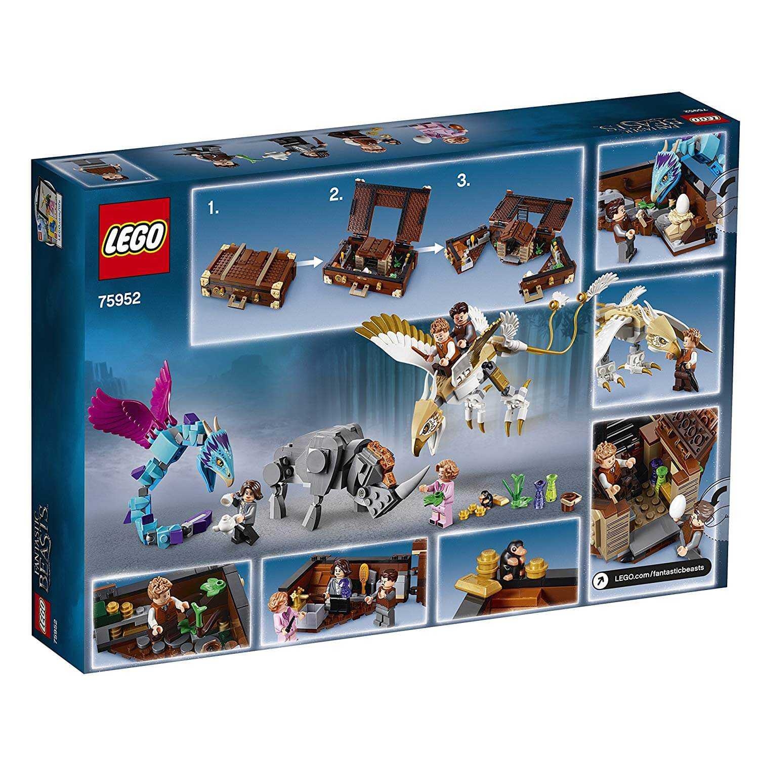 Lego Harry Potter Fantastic Beasts Newt S Case Of Magical Creatures Set 75952
