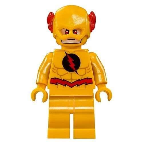 Lego Dc Super Heroes Reverse Flash Minifigure Split From 76098