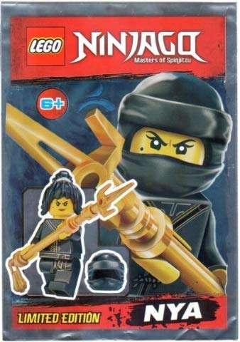 Lego Minifigures Series Ninjago #2 Spinjitzu Nya Minifigure Party Bags