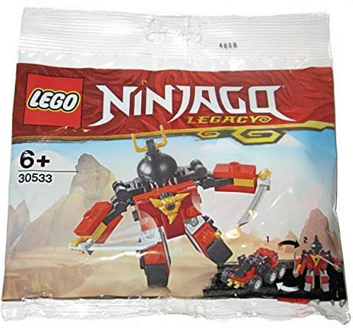 LEGO 30533 Ninjago Legacy Sam-X polybag NEW