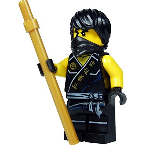 Lego Cole Ninjago Minifigure Black