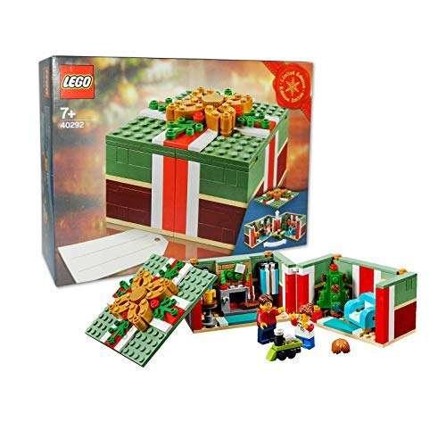 Lego Christmas.Lego Christmas Seasonal Box Promo Set 40292