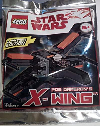LEGO Building Toys Lego Star Wars Poe Dameron's X-Wing Mini Foil Pack