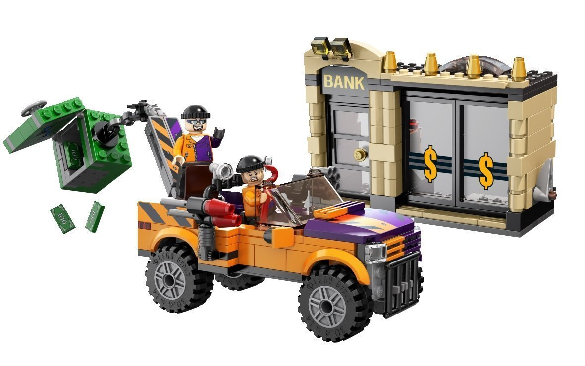 lego super heroes 6864 batmobile and the two face chase the minifigure store. Black Bedroom Furniture Sets. Home Design Ideas