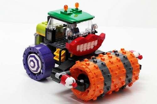 Lego Super Heroes Jokers Steam Roller Vehicle Split From 76013