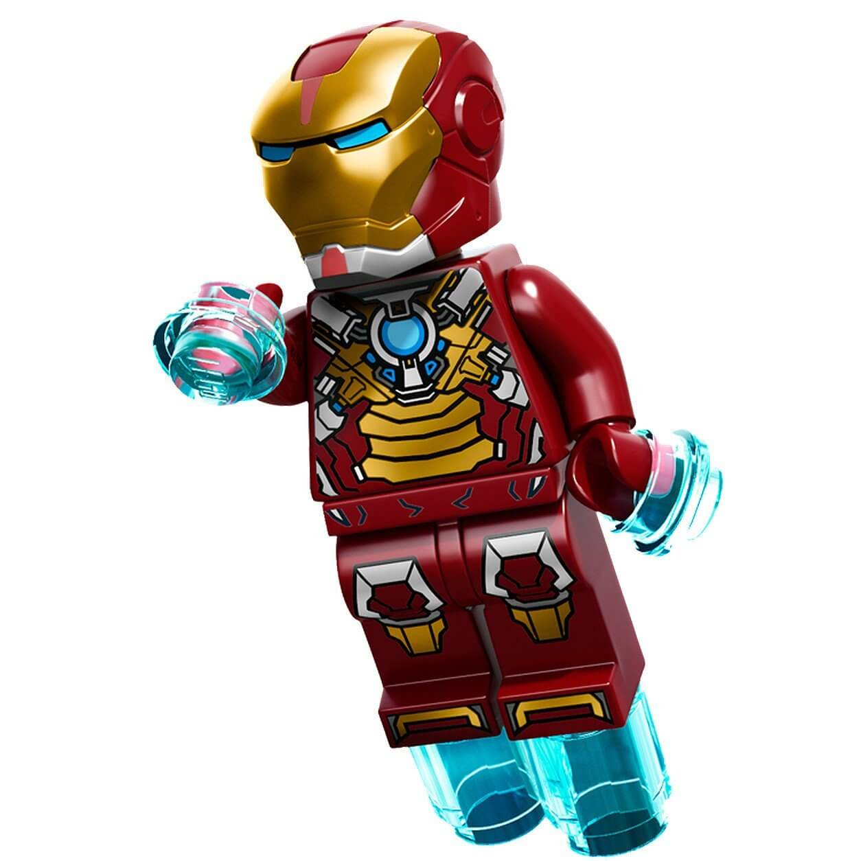LEGO Superheroes Iron Man Heart Breaker Armor Minifigure ...