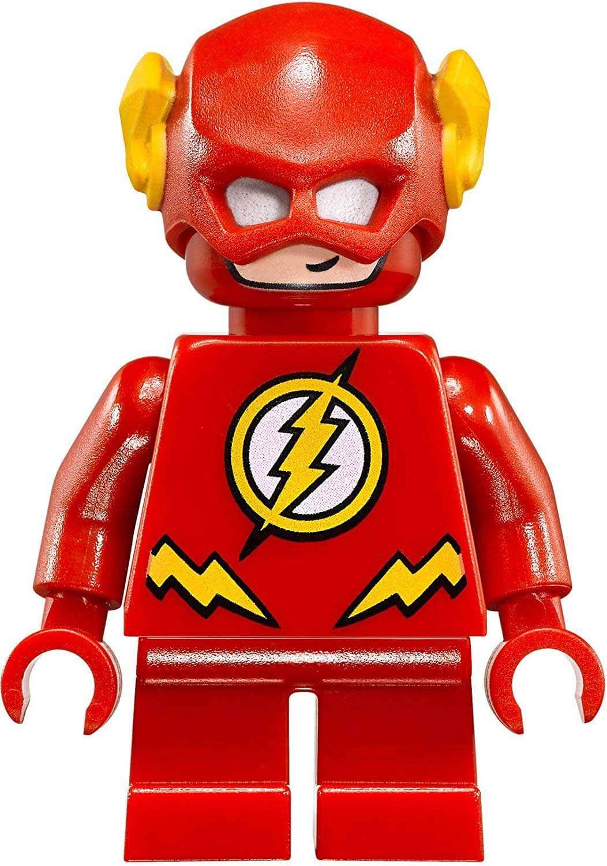 Lego The Flash Short Legs Minifigure Split From 76063 Set Bagged