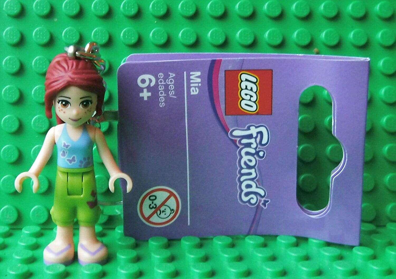 Lego Friends Mia Keyring Brand New Lego Keyring Age 6 The
