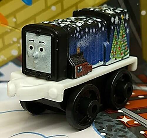 Fotos Cena Navidad Frinsa.Fisher Price Thomas Friends Minis Advent Diesel 4cm Bagged Collectable Christmas Train