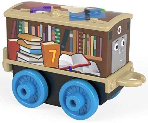 Thomas Amp Friends Minis Back To School Toby 4cm Engine
